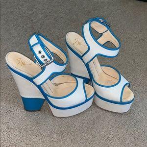 Giuseppe wedge heels